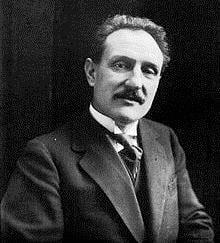 Camille Chautemps, ministre d'État du Front populaire, successeur de Léon Blum