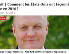François Asselineau sur News360X - comment les etats-unis ont façonnés le monde en 2014