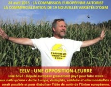 José Bové EELV OGM