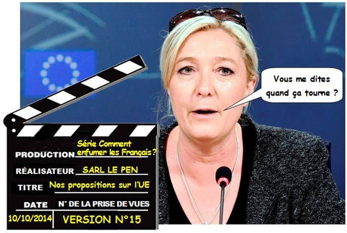 LE FN VEUT BÂTIR UN PARTI EUROSCEPTIQUE PANEUROPÉEN