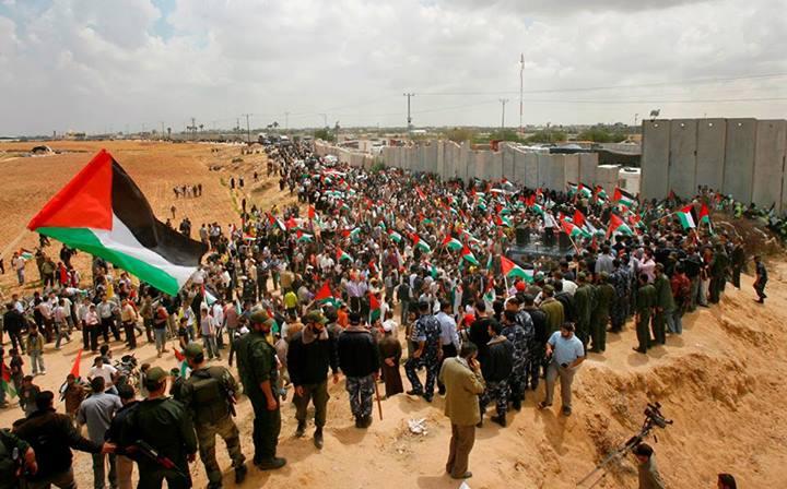 Ouverture temporaire du poste frontière de Rafah entre la bande de Gaza et l'Égypte le 26 mai 2011
