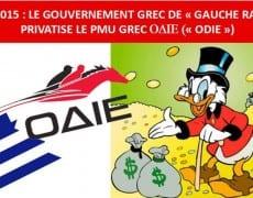 PMU Le gouvernement grec de gauche radicale vient de procéder à sa première privatisation exigée par la Commission européenne