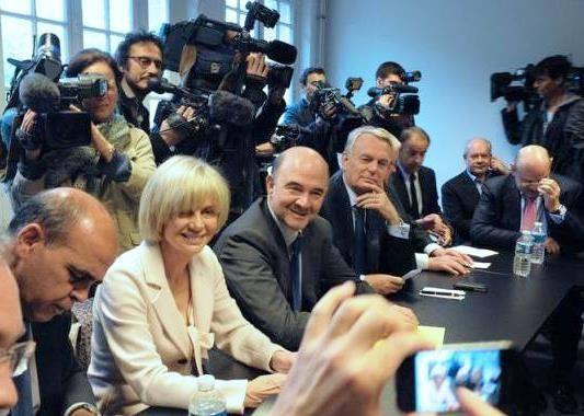 Pierre Moscovici et Élisabeth Guigou