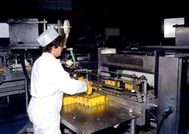 Travail de nuit pour cette ouvrière opératrice de fabrication de produits alimentaires