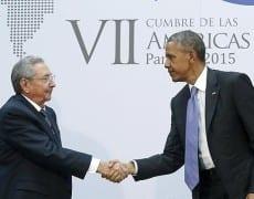 actualité cuba 1- Castro et Obama à Panamá