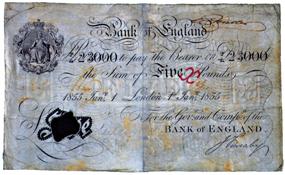 billet-5-livre-1855