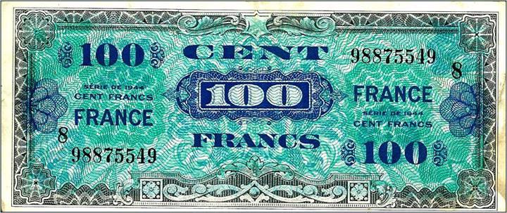 billets americains france Lhistoire vraie : il y a 50 ans, le 6 juin 1964, Charles de Gaulle refusait de commémorer «le débarquement des anglo saxons»