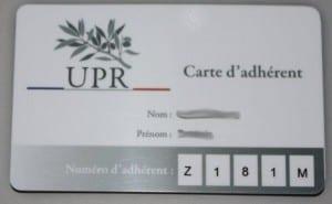 J'adhère à l'UPR maintenant ! carte-adhérent-upr