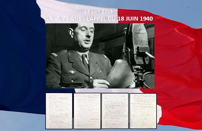 charles de gaulle appel du 18 juin 1940