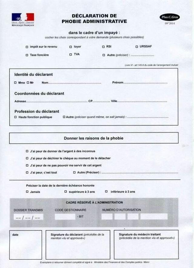 humour formulaire-phobie-administrative