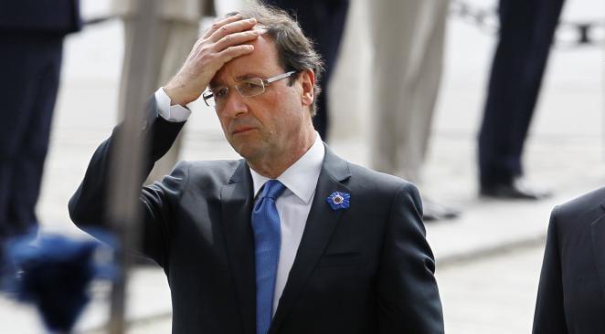 françois hollande au plus bas dans les sondages