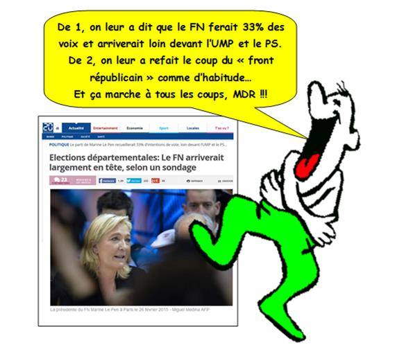 front national leurre