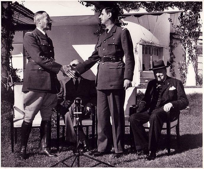 Général Giraud promue par Roosevelt pour tenter de contrer Charles de Gaulle