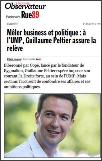 France, Mêler business et politique : à l'UMP, Guillaume Peltier assure la relève