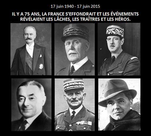 Pétain, Charles de Gaulle Londres
