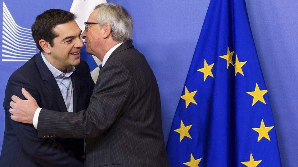 junker-tsipras-syriza-leurre