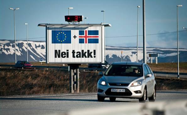 l'Islande dit définitivement Non à la dictature européenne