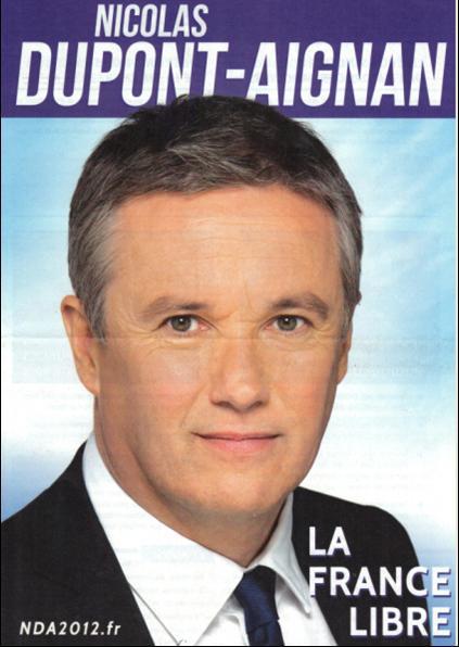 profession de foi de M. Dupont-Aignan 1