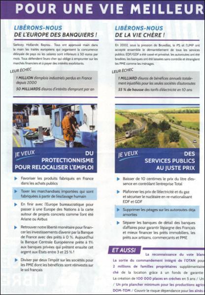 profession de foi de M. Dupont-Aignan 2
