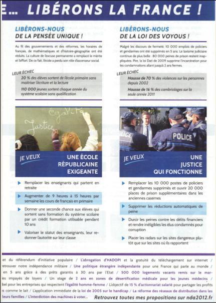 profession de foi de M. Dupont-Aignan 3