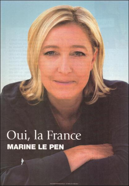 profession de foi de Mme Le Pen 1