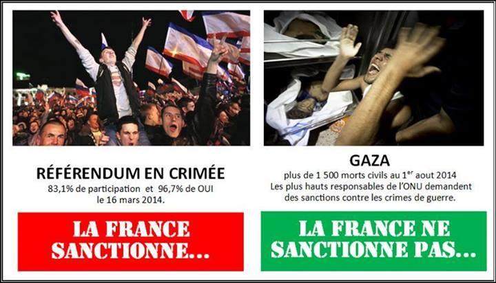 referendum crimee sanctions israel gaza L'UPR demande à François Hollande d'organiser en urgence un référendum sur sa politique de sanctions contre la Russie