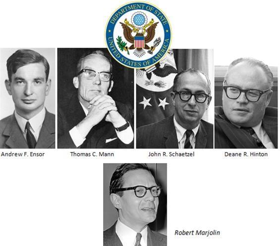 reunion 11 juin 1965 secrets departement etat americain union monetaire europenne