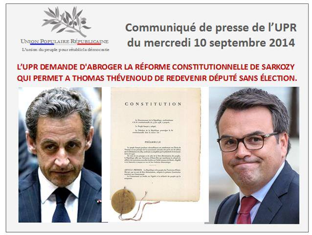 Dissertation reforme constitutionnelle 2008