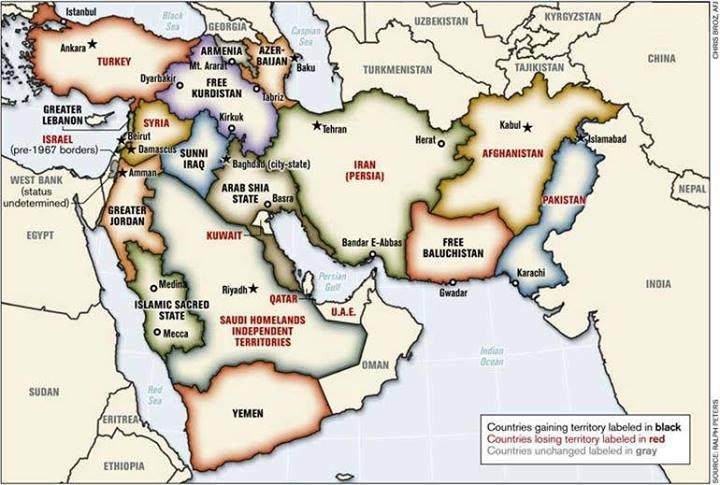 washington veut un nouveau Moyen-Orient